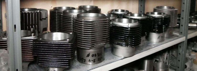 Bild Motorenteile Lagerteile Zylinder
