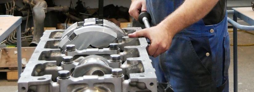 Bild Drees Motorentechnik - Exakte Arbeit